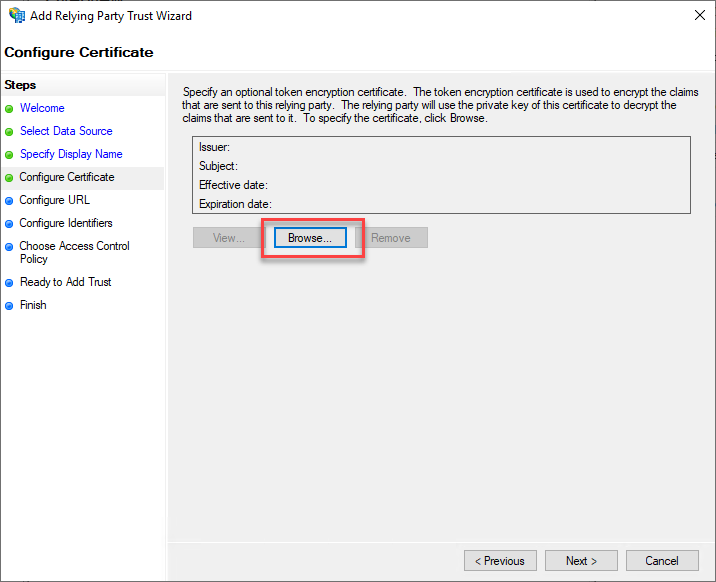 How to Configure the Active Directory Federation Services Identity