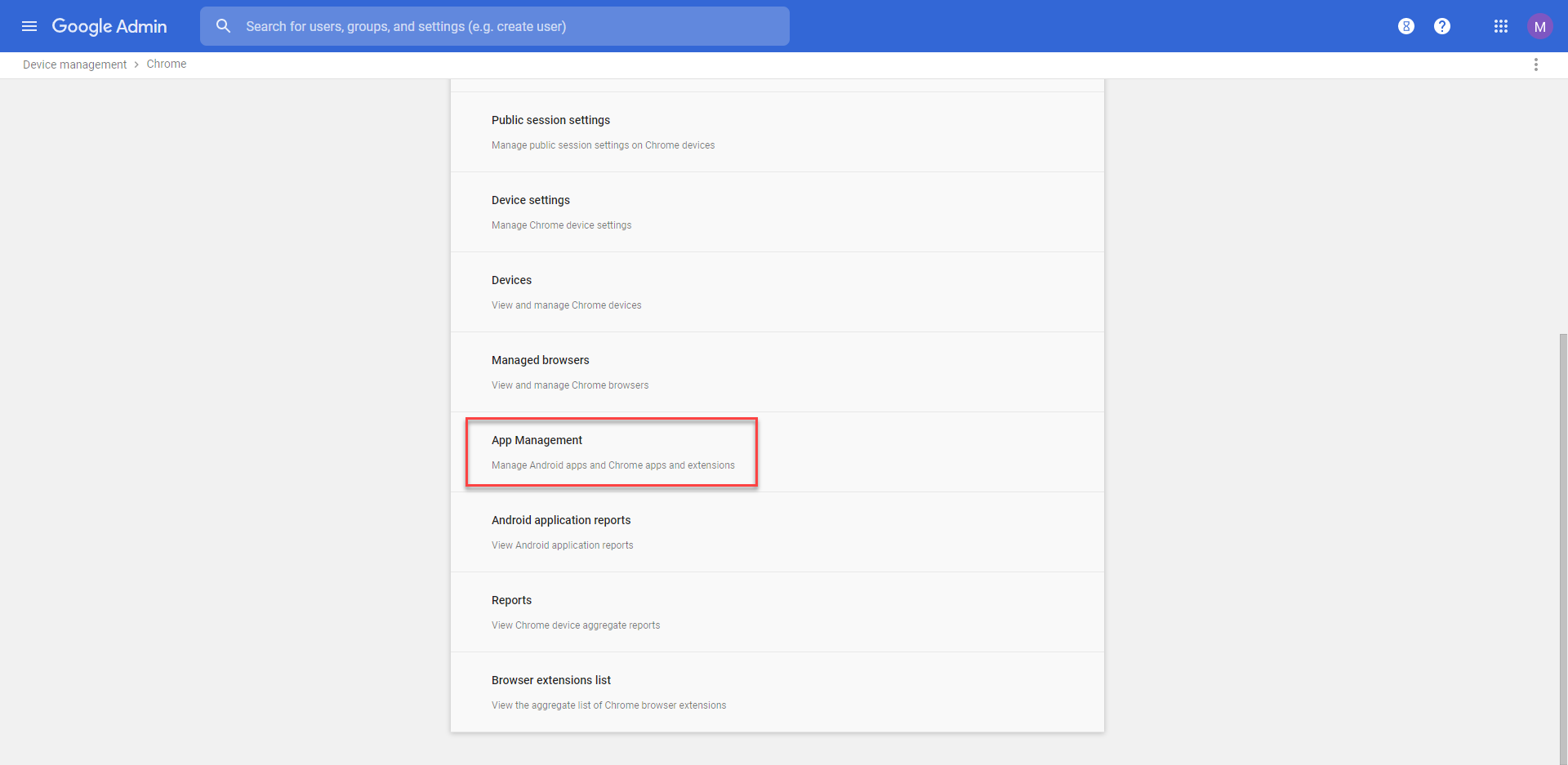 android apps on chromebook google admin